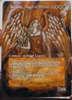 Magic Card Alteration: Akroma, Angel of Wrath by Ondal-the-Fool