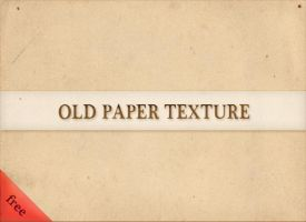 old paper texture - free by boeenet