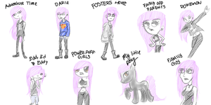 Different Styles by emobeast1990