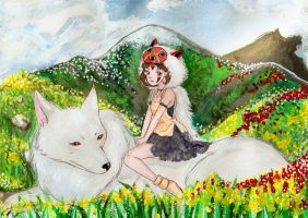Princess Mononoke by AnnaNaboka