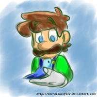 Luigi and Bird by MariobrosYaoiFan12