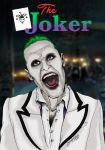 Jared Leto's Joker before offical release by khriztian