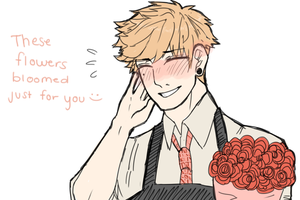 flowers for u by Barasenpai