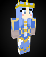 Queen Ashe in Minecraft by Endette