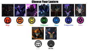Transformers Lanterns by Powershade117