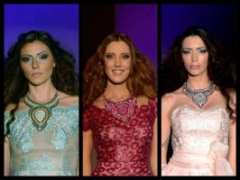Ani Jewelry Designs on a fashion show in Belgrade by AniDandelion