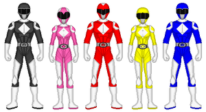 Eltarian Power Rangers by exguardian