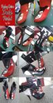 Harley Quinn Personalized Boots by Leuxdeluxe