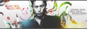 CROWS ZERO - Genji Takiya by YunGraph