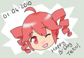 Happy B-Day Teto by HeiwaNoUta
