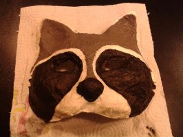 Raccoon mask by Lazareus