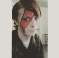 Finished look for Bowie photo shoot by HellBunneh2013