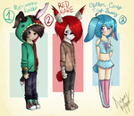 rabbit boys - collab [CLOSED] by hello-planet-chan