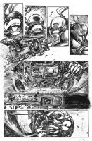tmnt page samples 5 by FrancescoIaquinta