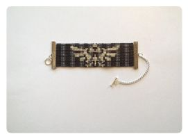 Zelda Beaded Bracelet by kitsunesama7