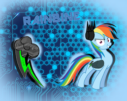 Rainbine by BastetXCat