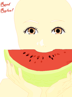 Yummy Watermelon Base by JemYikes--Pixels