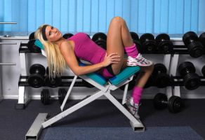 gym bunny2 by fineart-photographer