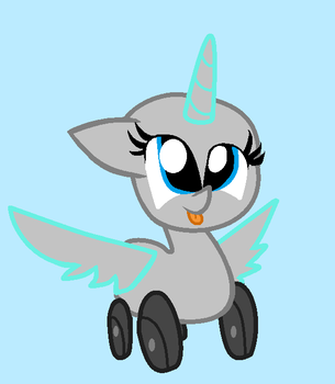 [Original Base] Wheely Pony by LittleCloudie