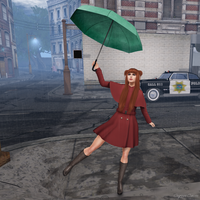 SL: I'm Singing In The Rain by CryssieCarver