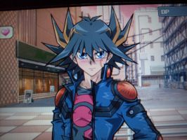 SPOILER Yusei is blushing by AsukaRose
