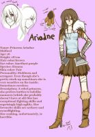OC Ariadne by Everinn