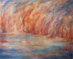Where  fire and water met by AlixMaria