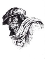 Wilfred the Werewolf of London by DugNation