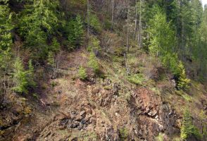 STOCK - Wooded Cliffside 3 by jocarra