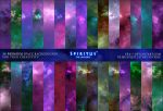 30 SPACE BACKGROUNDS - PACK 2 by ERA-7
