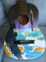 Homestuck Guitar by FreeFall101