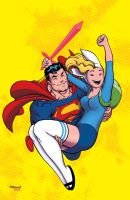 Superman and Fionna by Ed McGuinness by whoisrico