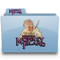 monkey island 1 folder by femfoyou