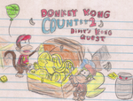 Donkey Kong Country 2 Doodle by mariobro27