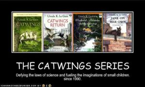 The Catwings series by GhostKITTEN