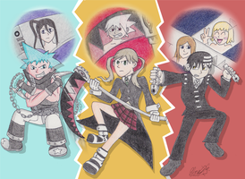 Soul Eater - Main Cast by The-Bryce-Is-Right