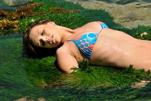 Lauren amid seagrass 1 by wildplaces