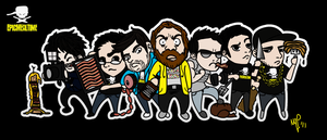 Epic Meal Time_Chibis by MinnaMouse101