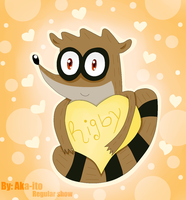 Rigby love  [Regular show] by Aka-ito