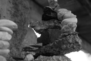 Intricate Cairn by WillyWonkaTheFearful