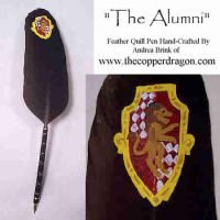 'The Alumni' Feather Quill Pen by TheCopperDragon2004