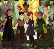 all epic characters as fairy's by briannamason7