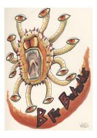 B for beholder by TheArtyMadCow