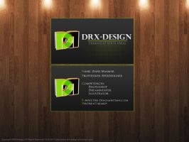 Personal Business Card by DRX-Design