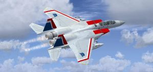 F-15E Starscream 1 by agnott