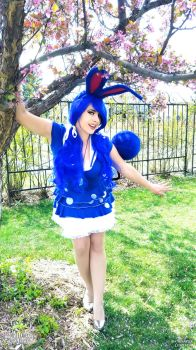 Azumarill Gijinka by HeatherAfterCosplay