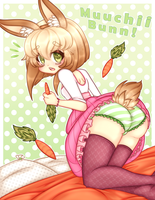 Muuchii Bunn butt by TheScarletDevil