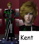 Kent from anime AMNESIA by MephistoE0592