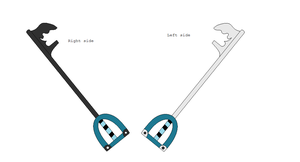 Keyblade thing by NoneToon