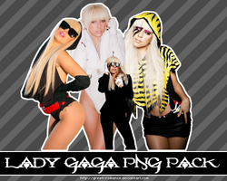 Lady Gaga PNG Pack by Green-Romance